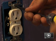 Whether you have a broken electrical outlet or just want to update the look of your home's electrical devices to go with the new decorating, installing a new 120-volt electrical outlet is a simple project. Learn how to do it here!