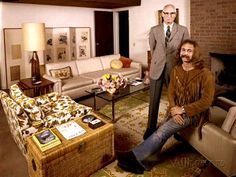 David Crosby and his father Floyd Crosby