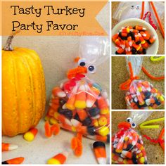 Candy Corn Turkey qu