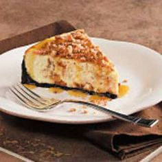 Butterfinger Cheesecake Recipe!!!  (leftover Halloween candy re-purposed)