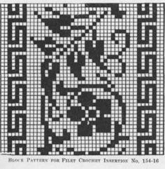 filet crochet edging - Bing Images
