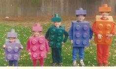 Lego costumes  - cute idea