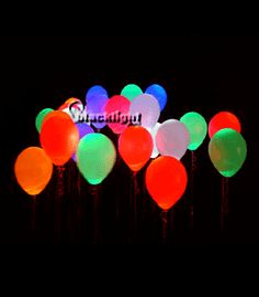 Blacklight Reactive Balloons!