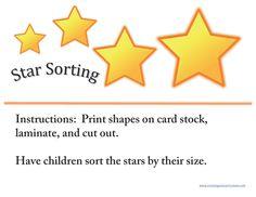 Activities for Kids - Sorting Activities - Free File Folder Games