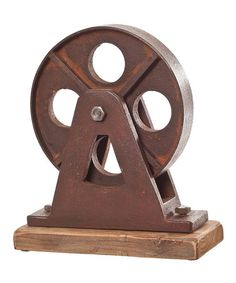 Take a look at this Large Wheel Statue by Wilco on #zulily today!