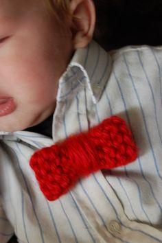 Loom Knit Bow