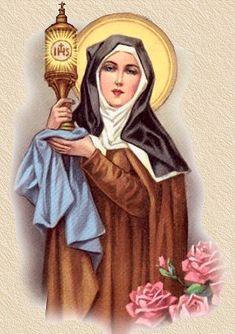 st clare of assisi - angel, saint clare, faith, st francis, st clare, catholic saints, cathol saint, assisi, santa clara