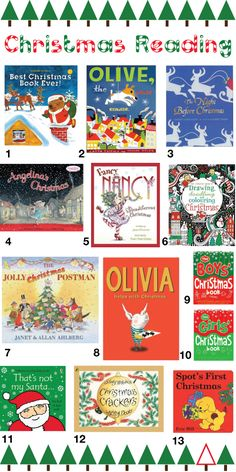 Making A List, Checking It Twice – Our Favorite Christmas Books  #KidStyleFile