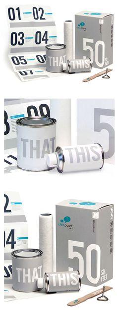 Cool idea paint #packaging #branding PD