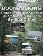 You can find my eBook, BOONDOCKING: Finding the Perfect Campsite on America's Public Lands at RV bookstore - the worlds largest online RV bookstore. #RV #books #travel #camping