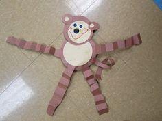 Mrs. Karens Preschool Ideas: Zoo monkeys, the zoo, zoo crafts, preschool zoo animal crafts, preschool idea, zoo art projects, picture frames, monkey craft preschool, kid