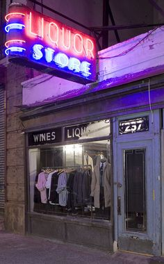 A More Detailed Look at the J. Crew Liquor Store | A Continuous Lean.