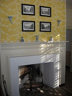 Fireplace design ideas: Colonial fireplaces
