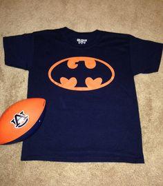 Auburn Tiger War Eagle Batman TShirt by AuburnTigerDesigns on Etsy, $15.00