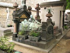 Montparnasse Cemetery: the Pigeon family tomb. One of my favorite grave monuments in the world.