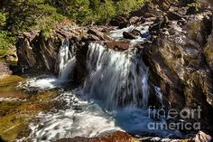 Redrock Falls:  See more images at http://robert-bales.artistwebsites.com/
