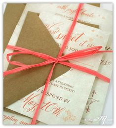 Top 10 Coral Wedding Invitations- for more great #wedding color inspiration visit http://www.brides-book.com