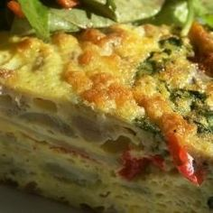 Excellent frittata recipe - great with veggies