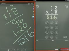 MathBoard - great arithmetic math practice iPad app for addition, subtraction, multiplication and division