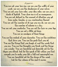 Wow.. Love this. I need to read this every day until I believe ;)