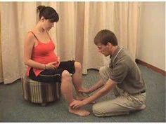Accupressure point for inducing or enhancing labour.