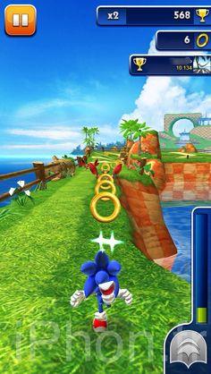 Sonic Dash iPhone : first screenshots (2/3)
