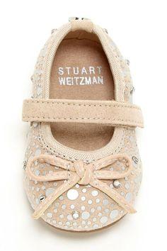 (via Stuart Weitzman baby shoes via Baby mine ❤ | Pinterest)