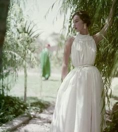 vintage dress 1953