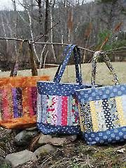 Sew - Mary Elizabeth Tote Bag Sewing Pattern - #353088