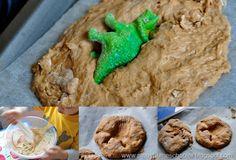 Homemade Dinosaur Fossils from The Pinay Homeschooler