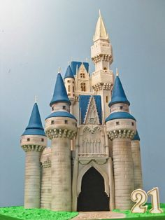 Disney castle cake :)