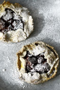 Fig and Blackberry Tartlet.