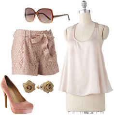 Lace Shorts- love the look the shorts are killer