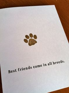 Dog Sympathy Card by SMCollierDesign on Etsy, $2.00