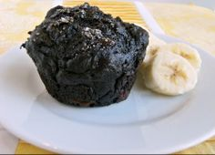 Chocolate Prune Muffins #healthified