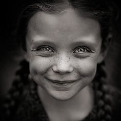 a girl without freckles is like a night without stars.