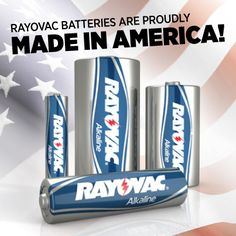 Proudly Made in America!