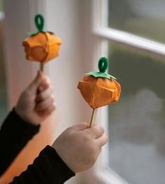 12 Easy Thanksgiving Crafts and Activities for Kids - weather.com nature crafts, thanksgiving crafts, pumpkin, thanksgiv craft, halloween crafts, fall craft, mini maraca, craft ideas, kid