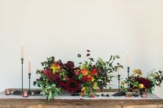 Tablescape florals by Karley Parker Photo by Heather Nan