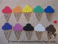 Ice Cream Busy Bag