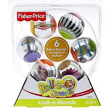 """Fisher-Price Roll-a-Rounds: Look-a-Rounds - Fisher-Price - Toys """"R"""" Us. Thanks for the suggestion, Melinda."""