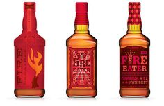 Early Times Hot Cinnamon Whiskey Packaging