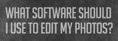 editing software