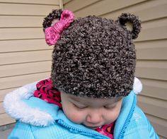 bear hat ☺ Free Crochet Pattern ☺