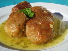 Albóndigas en salsa verde en olla GM, de Ana Sevilla