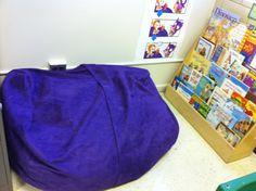 Jaxx Pillow Sac Jr Lounger in our Reading Corner