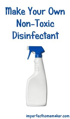 Homemade Non-Toxic Disinfectant coupons, natural cleaners, tea tree oil, allpurpos cleaner, nontox disinfect, castile soap, bottles, blog, homemad nontox