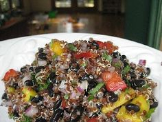 Meatless Monday:  Rainbow Quinoa