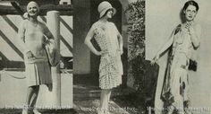 With the Wall Street Crash just around the corner, it was all sweetness and light in California. Some of Hollywoods most glamorous stars model their chosen wardrobe for the coming season.  Norma Shearer models three outfits for Photoplay in May 1929.