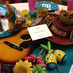 Mexican Fiesta Cinco De Mayo Table decorations